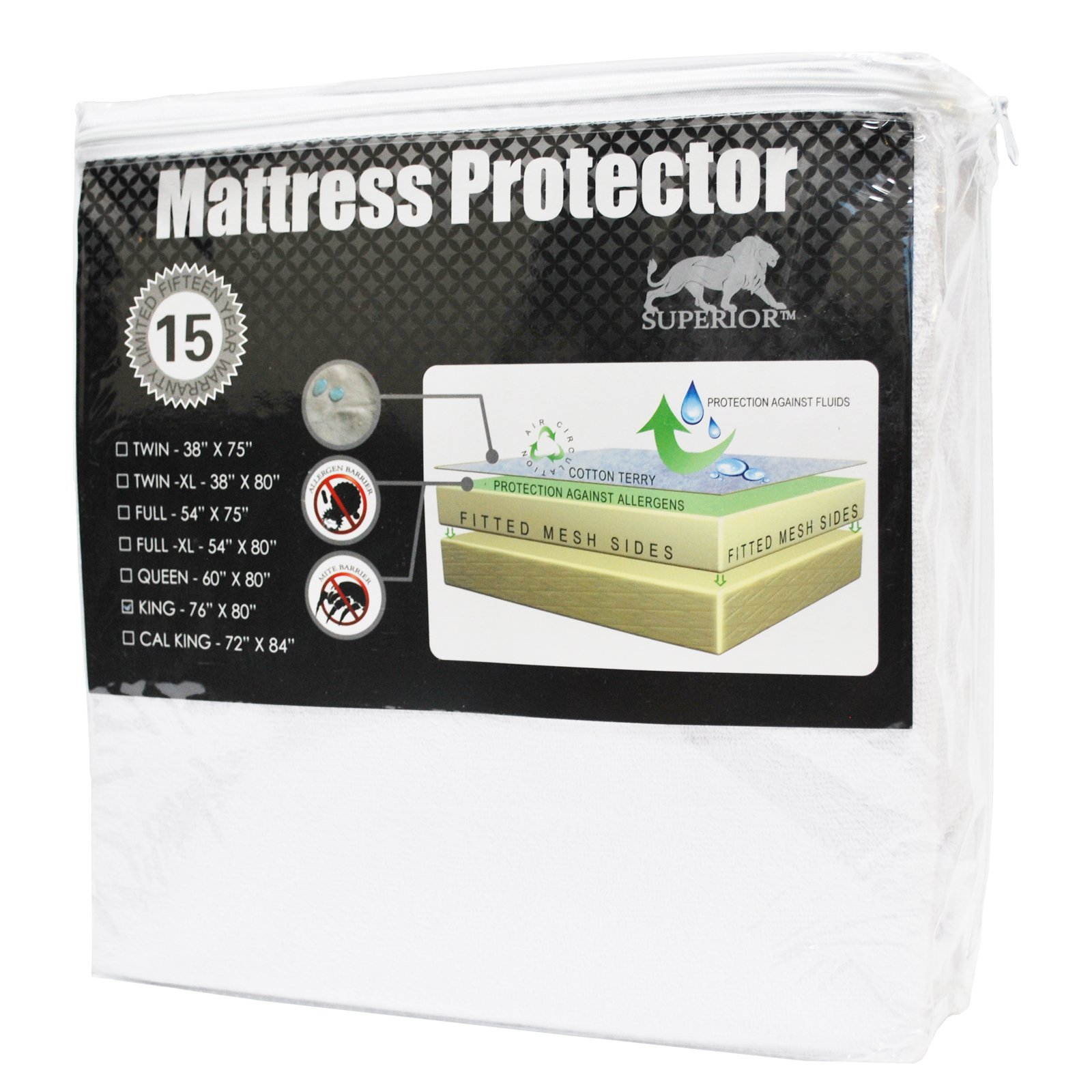 Superior Waterproof Mattress Protector