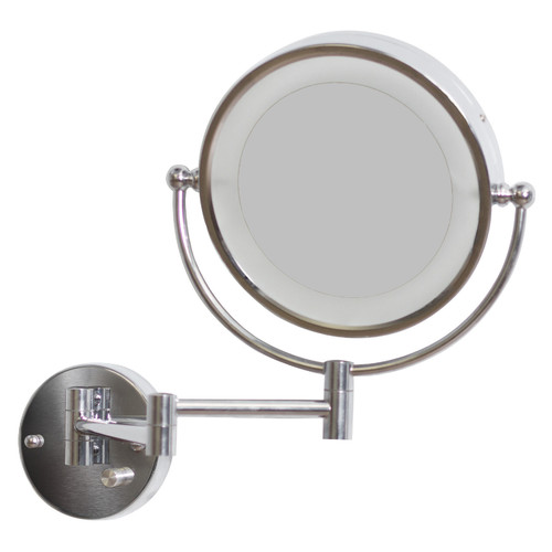 American Imaginations Round LED Wall Mirror