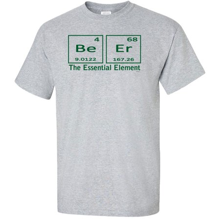 Beer The Essential Element Adult T-Shirt