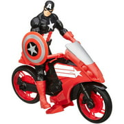 The Avengers Avn Captain America With Defender Cycle