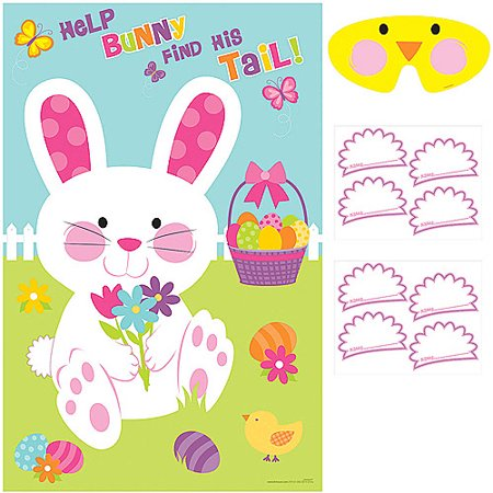Pin The Tail On The Bunny (Pin the Tail on the Bunny Party)
