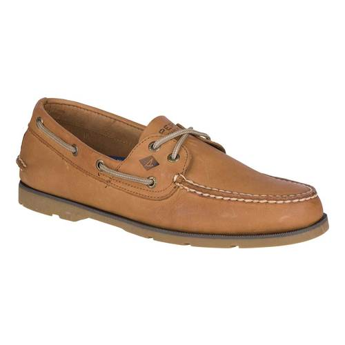 Men's Sperry Top-Sider Leeward 2-Eye (Sperry Top Sider Boys Billfish Boat Shoes)