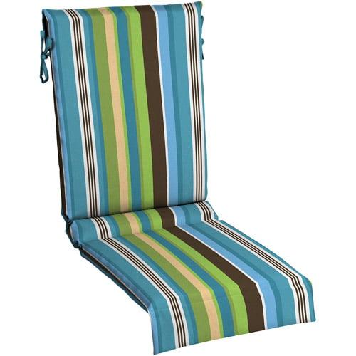 Mainstays Sling Chair Pad Blue Stripe