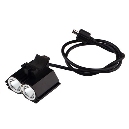 Waterproof 2X Creee Xml U2 Led Cycling Bicycle Bike Light Lamp Headlight Headlamp Battery Pack And Charger
