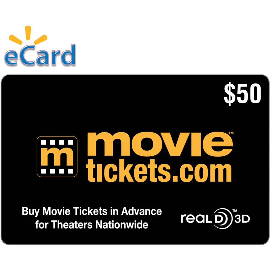 Movietickets.com $50 (Email Delivery)