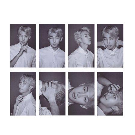 Fancyleo Kpop BTS Bangtan Boys Photo Postcard Signature Lomo Cards Set Gift for A.R.M.Y 8 Pcs/Set