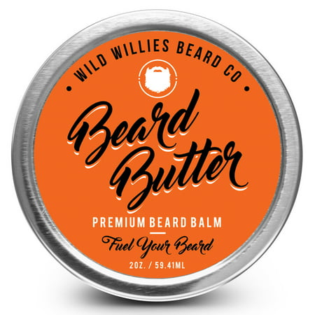 Wild Willies Beard Butter, Premium Beard Balm and Conditioner, 2
