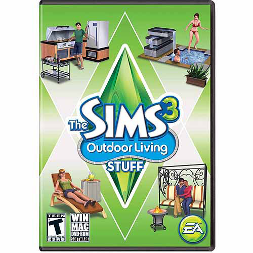 Sims 3 Outdoor Living Stuff Expansion Pack (PC/Mac) (Digital Code)