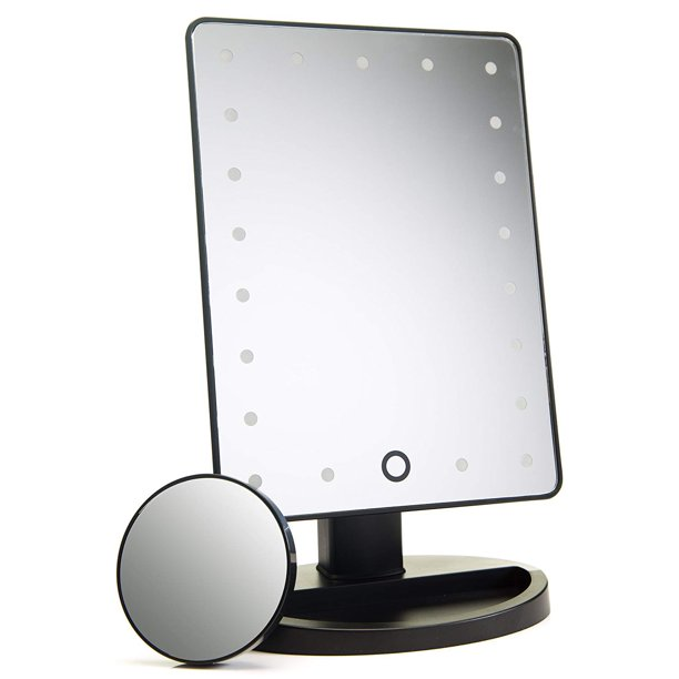 Natural Daylight Lighted Makeup Mirror Vanity Mirror With Touch