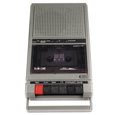 Portable Four-Station Listening Center Audio Cassette Recorder APLSL1039 by AmpliVox