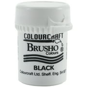 Brusho Crystal Colour 15g-Black