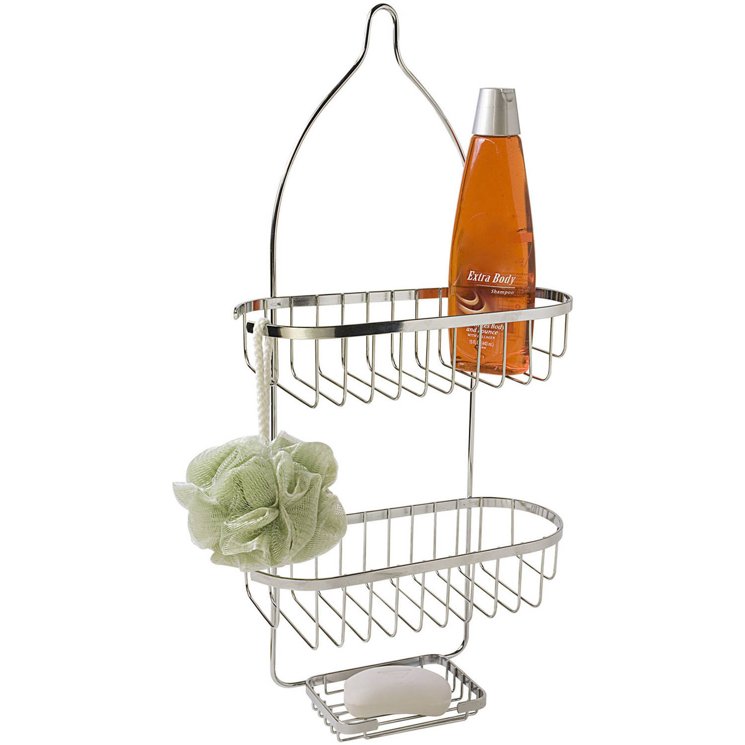 Home Basics Chrome Shower Caddy by Generic