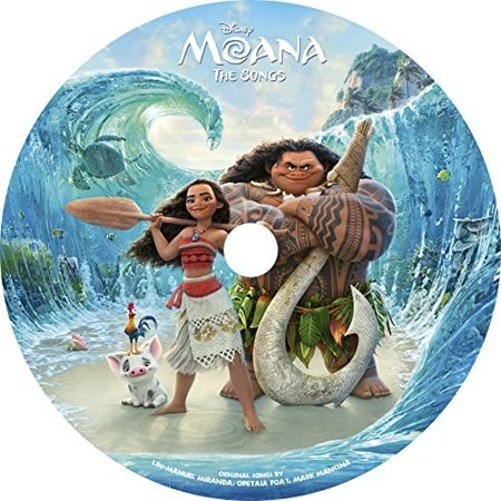 Moana  The Songs  Picture Disc   Vinyl   Limited Edition