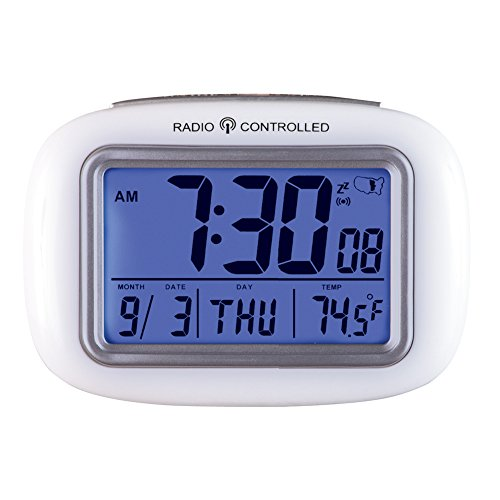 Cordless Atomic Digital Alarm Clock by Collections Etc