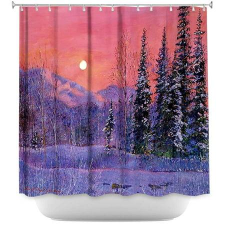 DiaNoche Designs Unique Bathroom Shower Curtains By David Lloyd Glover