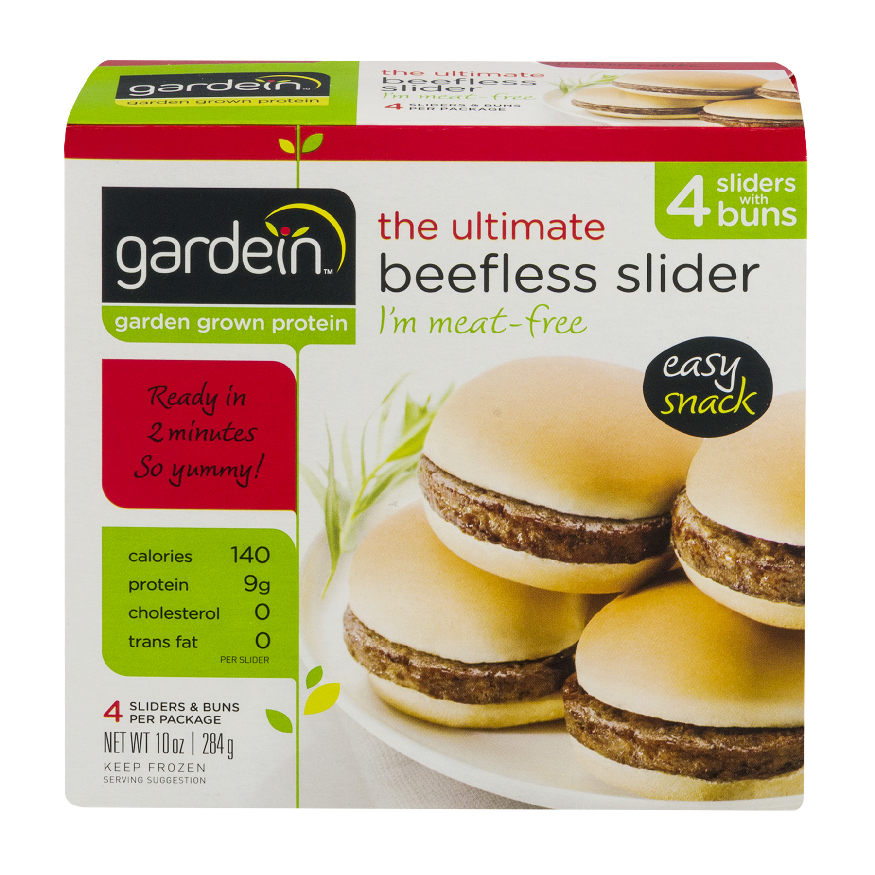 Gardein™ The Ultimate Beefless Slider 4 ct Box