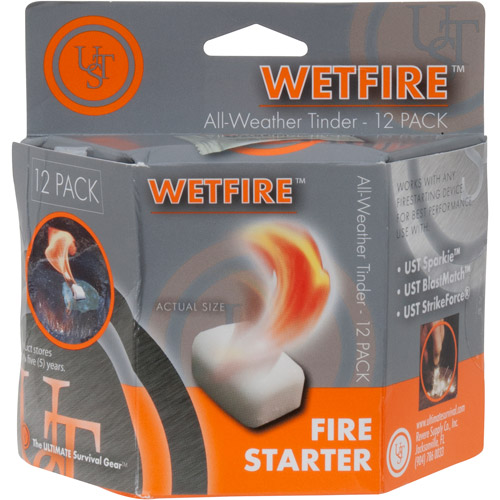 WetFire Fire Starting Tinder