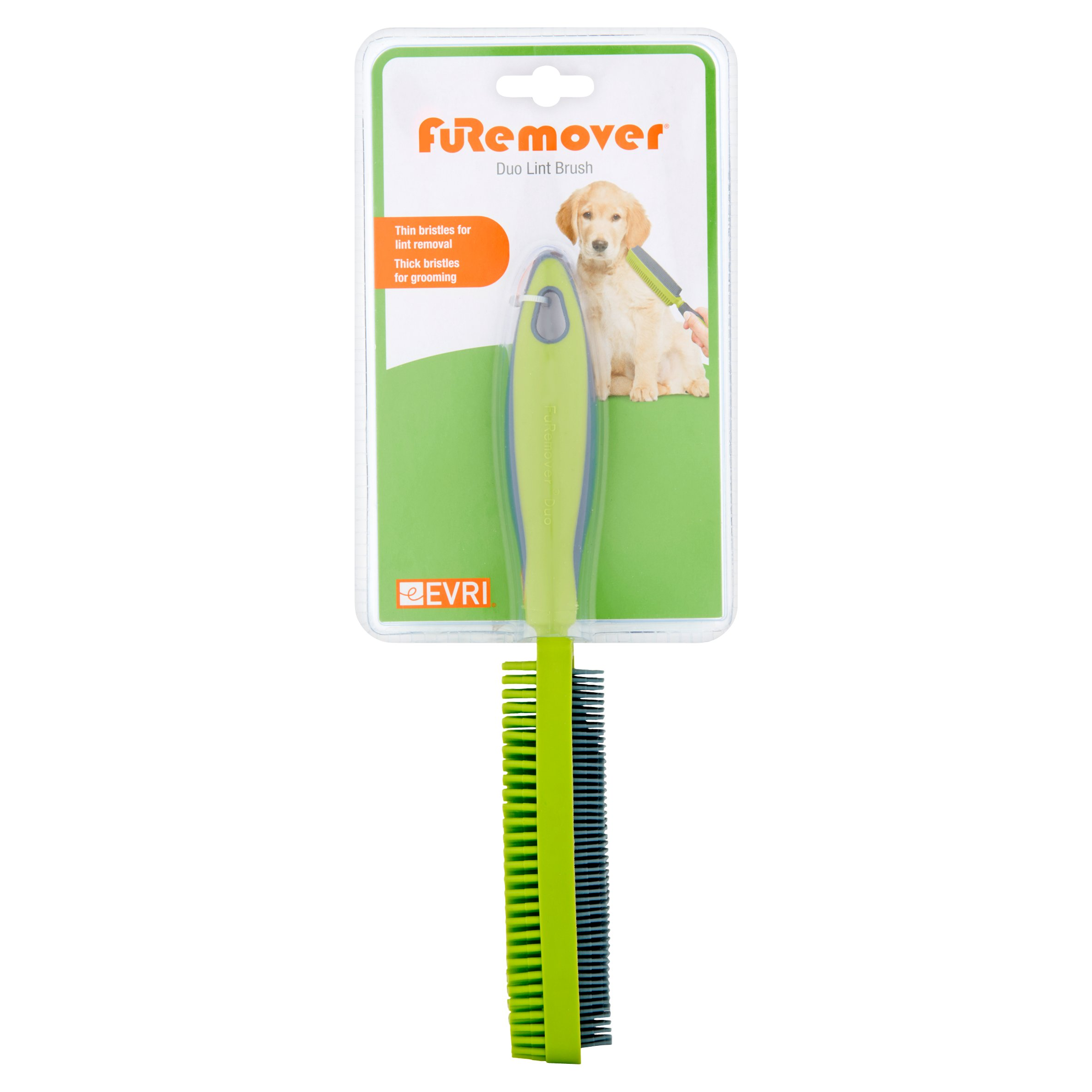 Evri Furemover Duo Lint Brush - Color May Vary