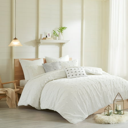Ivory Kay Comforter Set (Full/Queen)