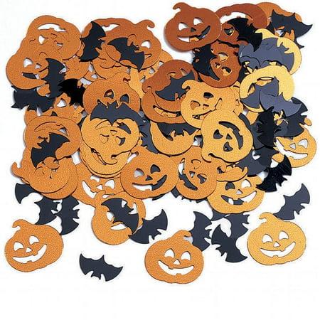 Creative Converting Bats And Pumpkin Confetti, 0.5 oz - Confetti Decorati Halloween