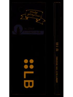 LB Smudge Gel Eyeliner, Jet Black