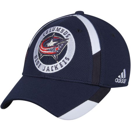 best sneakers bf1b4 07d88 Columbus Blue Jackets adidas Practice Jersey Hook Flex Hat ...