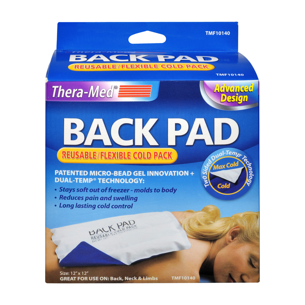 Thera-Med Back-Pad Reusable/Flexible Cold Pack, 1.0 CT