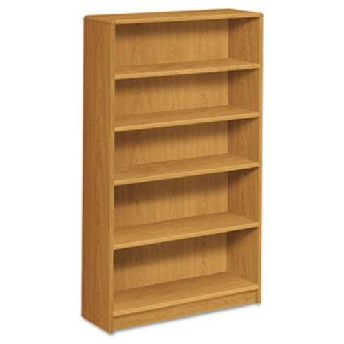 "Hon 1890 Series Harvest Laminate Bookcase - 36"" Width X 11.5"" Depth X 60.1"" Height - Radius Edge - Hardwood, Particleboard, Wood, Hardboard - Harvest, Thermofused Laminate [tfl] (1895c)"