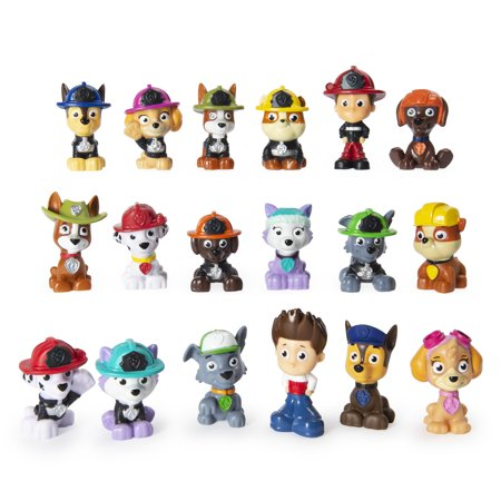 PAW Patrol, Mini Rescue Figures Blind Box of Collectible PAW Patrol Characters (Style May Vary)