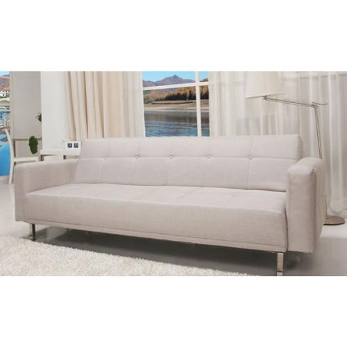 SB 9016 Contemporary Home Design Beige Fabric Sofa Bed Green Walmart