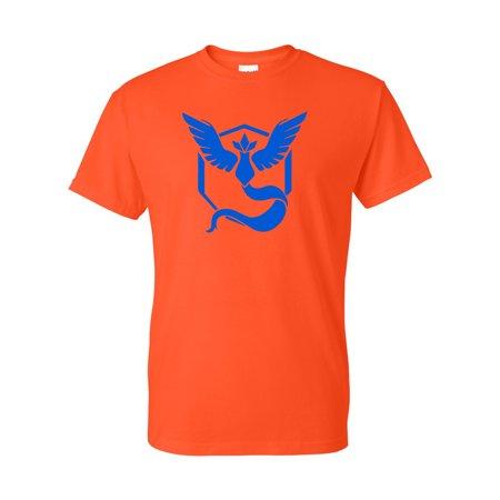 Pokemon Go Gym Team Mystic Blue Youth Boys Girls Short Sleeve Tee T-Shirt - Naughty Pokemon Girls