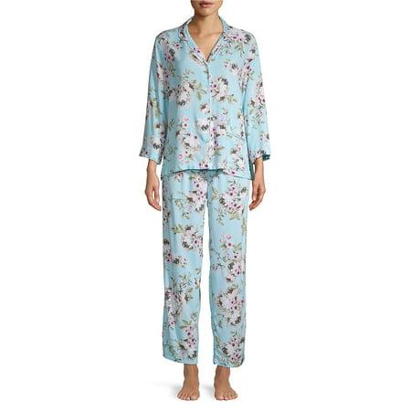 - 2-Piece Printed Pajama Set