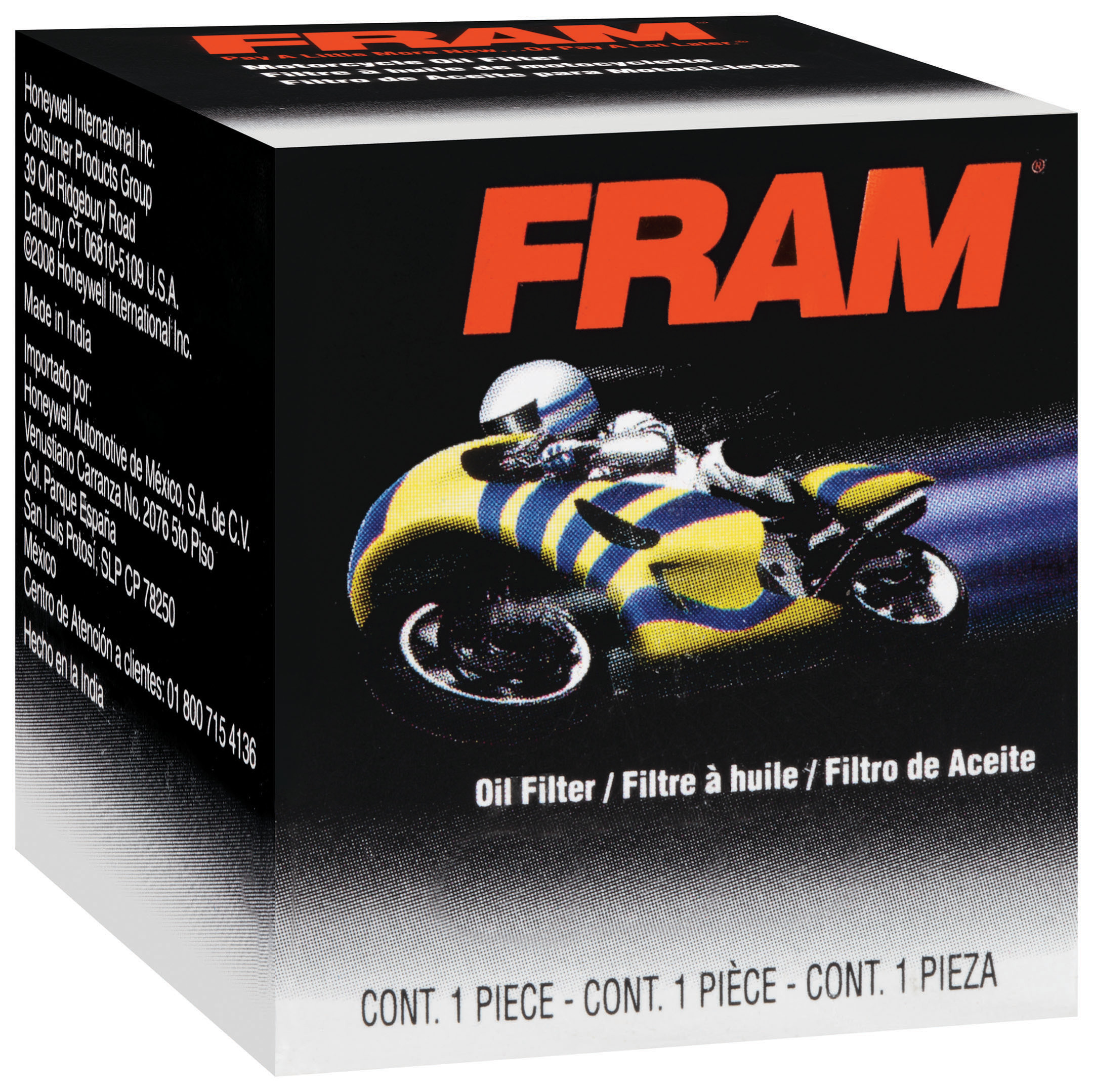 FRAM Motorcycle Filter, PH6065B