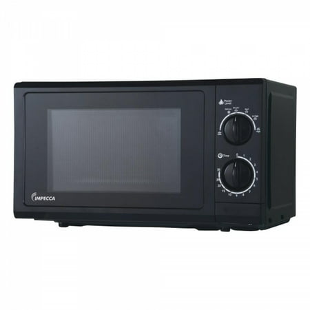 Impecca CM-0674K 0.6 Cu Ft Microwave Oven, Black