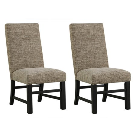 Signature Design by Ashley Sommerford Upholstered Dining Parson Chair - Set of 2
