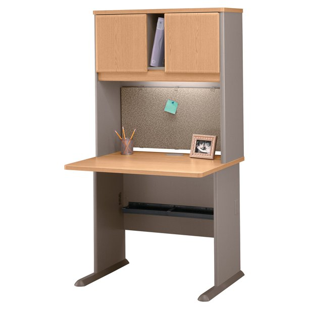 Bush Series A 36 Inch Desk And Hutch