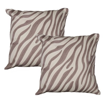Decorative Pillows Marshalls : Marshall Home Garden Zebra Throw Pillow (Set of 2) - Walmart.com