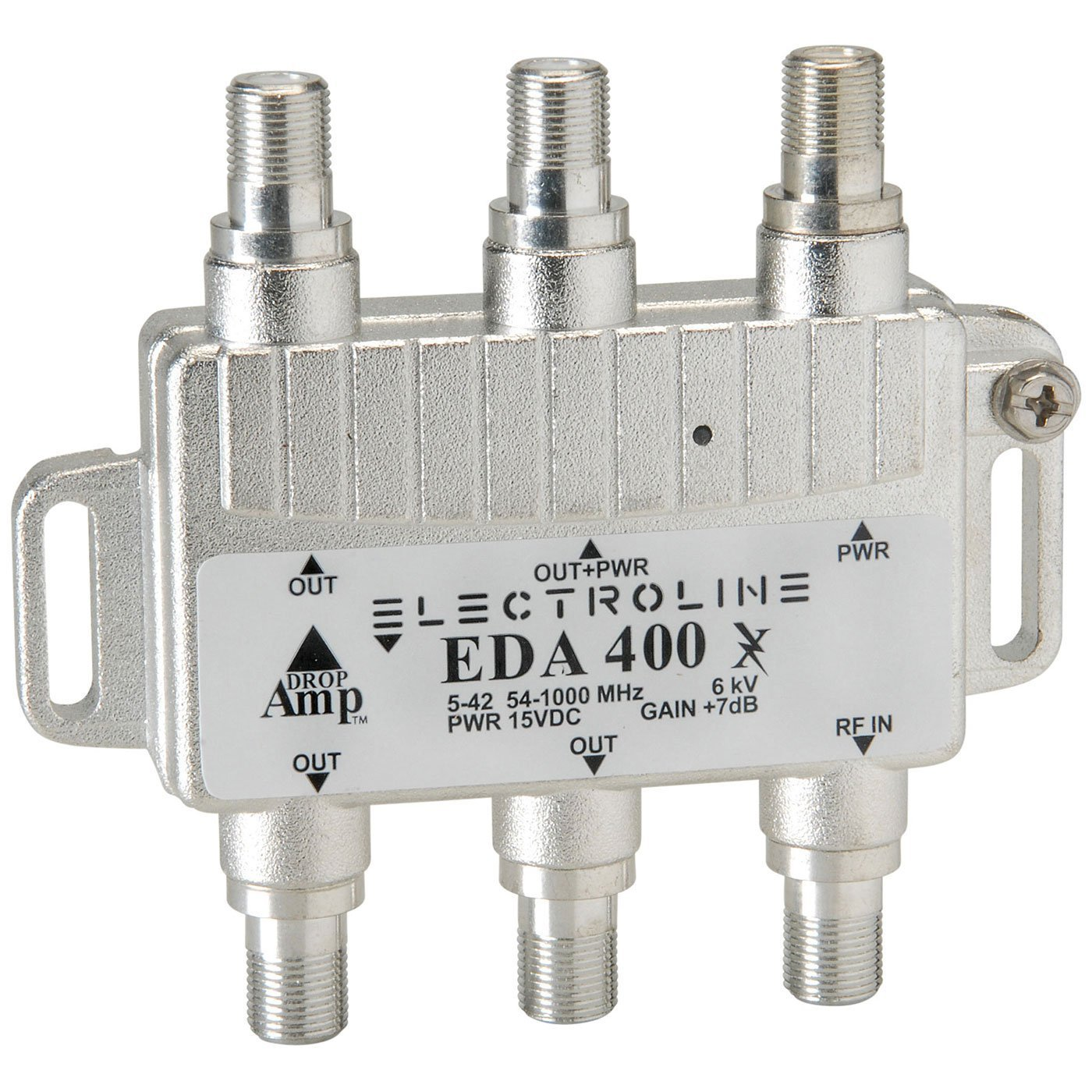 EDA400 Compact Bi-Directional Signal Booster 4-Port Cable...