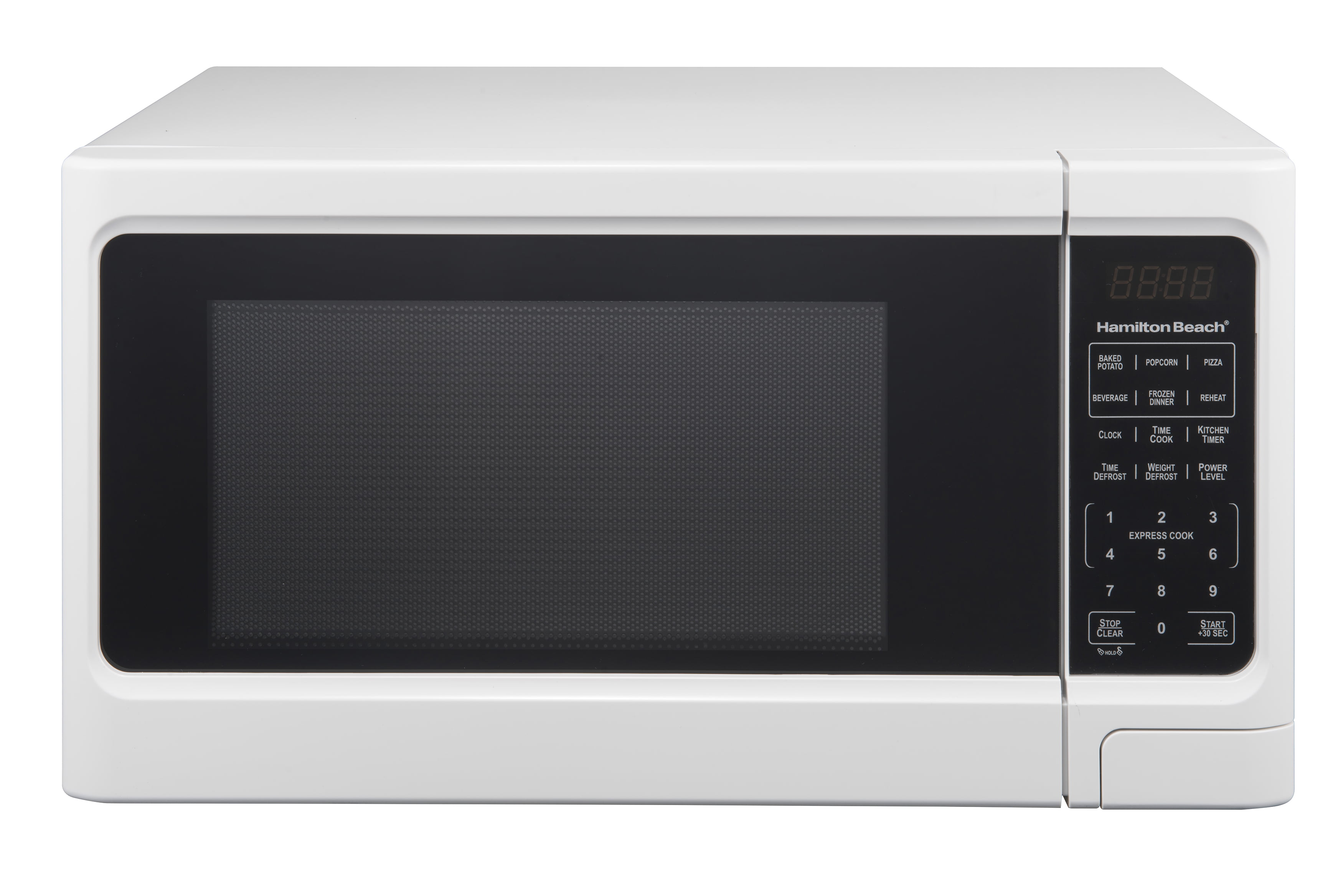 Hamilton Beach 1.1 Cu. Ft. Digital White Microwave Oven, 1 Each