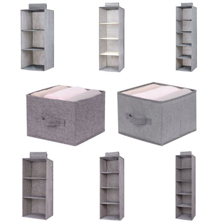 Interlayer Drawer Type Wardrobe Hanging Storage Bag Organizer Debris Storage Box Hanger (Hanging Storage Bins)