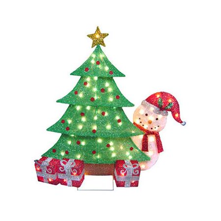 nomainliten import v53734 88 christmans tree snowman lawn decoration 70 - Walmart Christmas Lawn Decorations