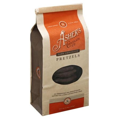 Ashers Chocolates Ashers  Pretzels, 6.5 - Chocolate Covered Pretzels Halloween Recipe