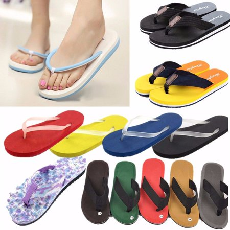 Summer Flip Flop Sandals - Fashion Womens Summer Casual Flip Flops Beach Slippers Sandals Summer Shoes