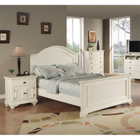 Picket House Furnishings Addison 3 Piece King Bedroom Set In White