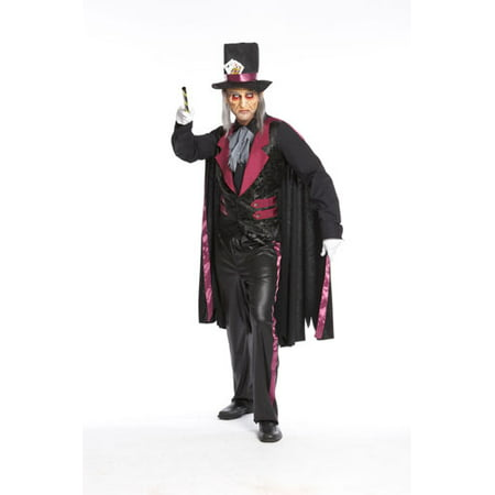 Halloween Priest Costume (Mens Father Phantom Priest Halloween)
