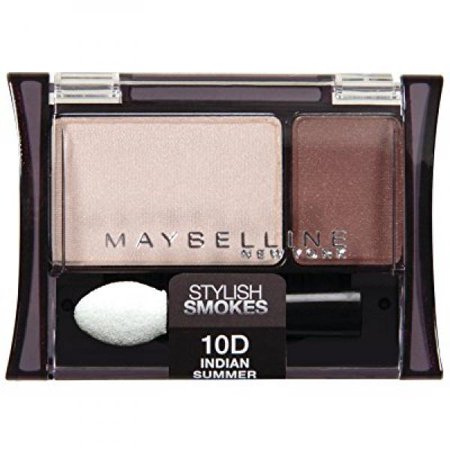 Maybelline New York Expert Wear Eyeshadow Duos, 10d Indian Summer Stylish Smokes, 0.08