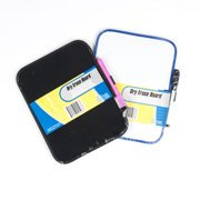 """Dry-Erase 6-1/2"""" x 8-1/4"""" Whiteboard with Marker and Magnet Strips - 02528"""