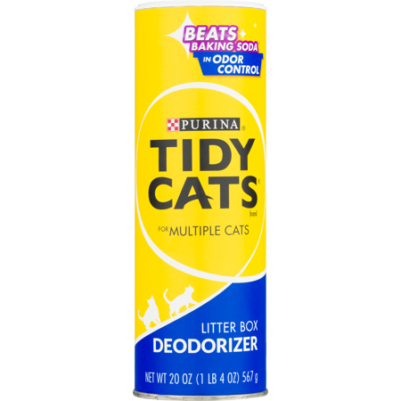 Purina Tidy Cats Litter Box Deodorizer for Multiple Cats 20 oz. Canister
