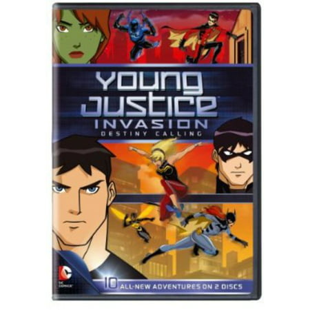 Young Justice Invasion Destiny Calling  Season 2 Part 1