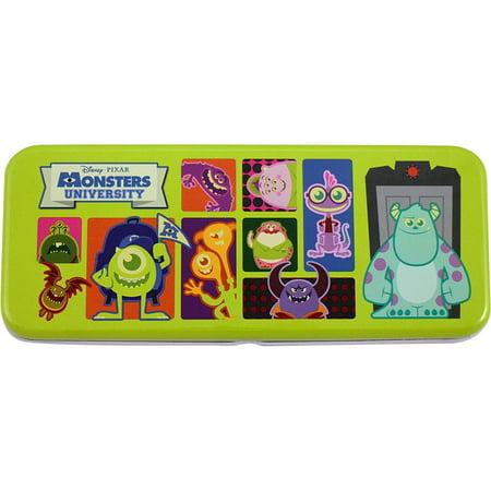Disney Pixar's Monsters University 2D Monster Portraits Tin Pencil Box